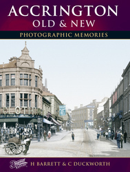Cover image of Accrington Old and New Photographic Memories