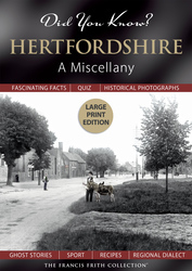 Cover image of Did You Know? Hertfordshire