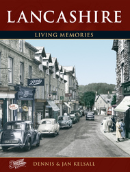 Cover image of Lancashire Living Memories